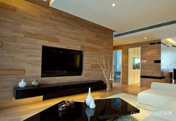 客厅电视墙的装修设计要点
