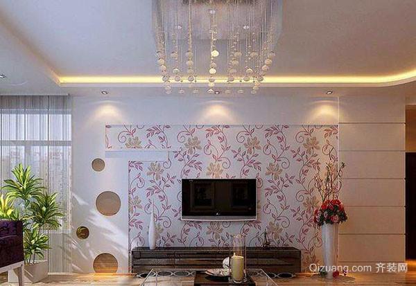 客厅电视墙的装修