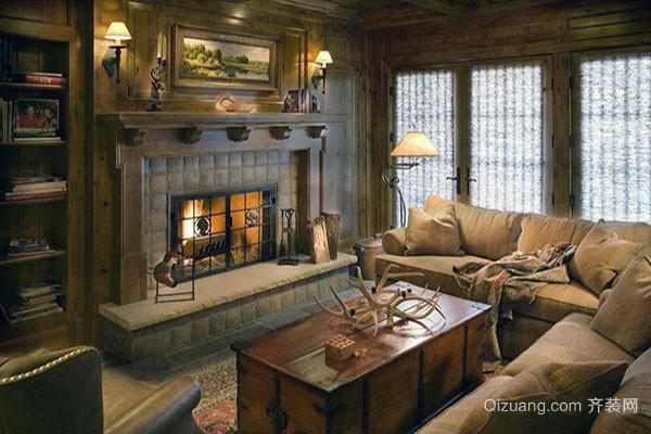 有哪些别墅壁炉风格