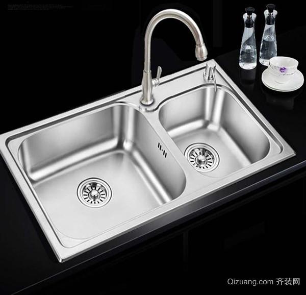 厨房水槽怎么清洁好