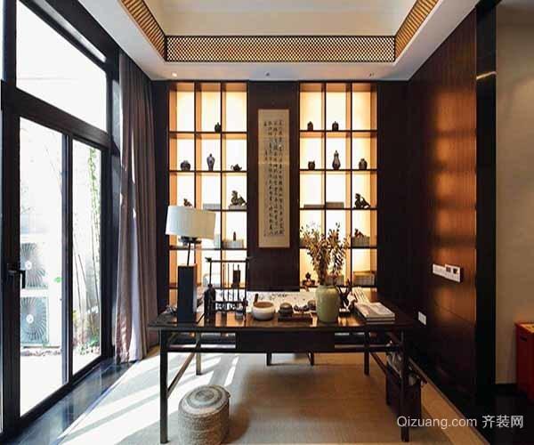 中式书房装修技巧有哪些