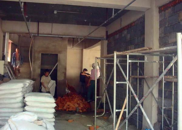 泥瓦装修施工