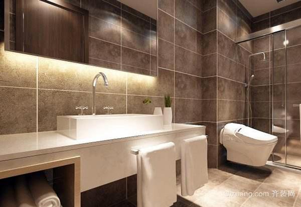 老房卫生间改造小秘诀三,干湿分离设计