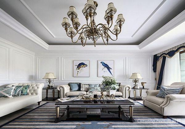 四,法式风格客厅设计特点有哪些之典雅高贵 法式风格客厅设计的主图片