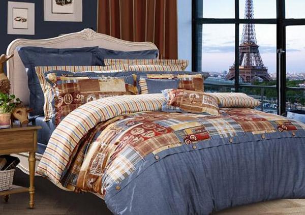 全棉磨毛四件套选购指导 床上用品还得选好的