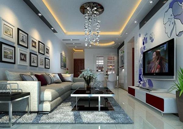 客厅吊顶设计的形式分类 给你更丰富的吊顶形式