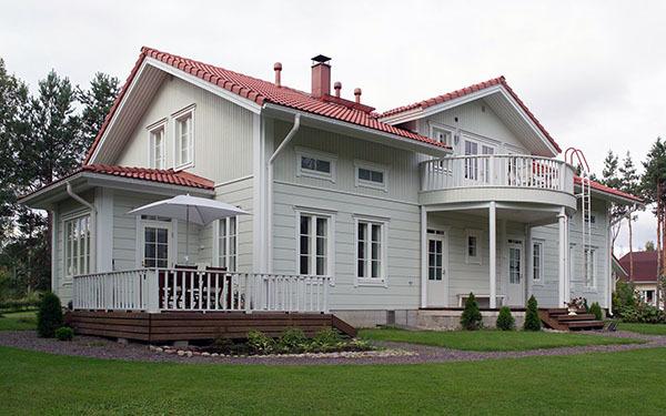 木屋别墅的设计方案