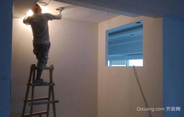 墙面基层施工步骤