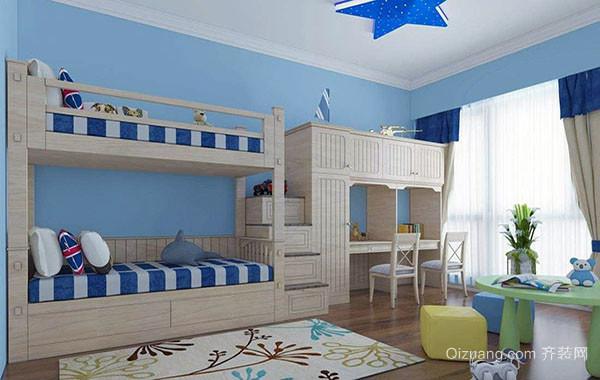双人儿童房设计方案有哪些 给孩子最佳居住体验