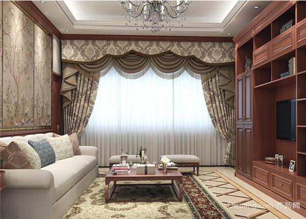 三、尊贵古典系列 家居风格中一直都比较受欢迎的还有古典系列的风格,包括欧式、法式,还有英式的装修风格。这些家居风格都是以奢华著称,如何根据家居风格选择窗帘颜色,要体现这个高贵典雅的特性。窗帘选择金色、银色,交织着白色,可以使之很好的融入环境,并成为家居中的亮点。