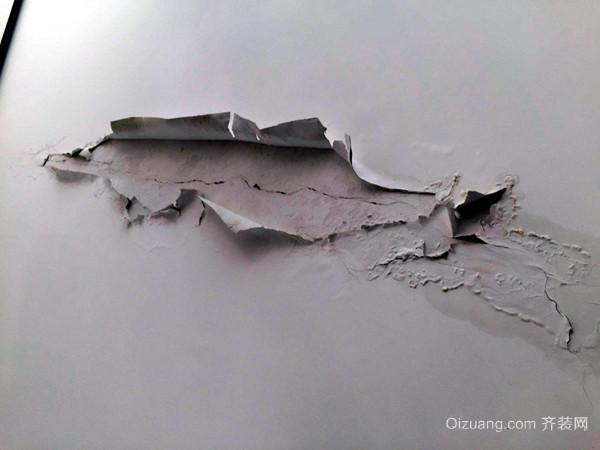 墙面施工不规范操作