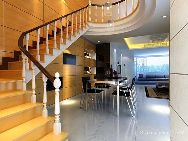 二,复式装修设计要点——楼梯应满足实用性及安全性