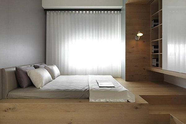 地台床的设计要点有哪些 合理设计才能用的舒心