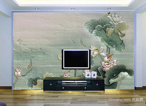 硅藻泥电视背景墙的优势解析