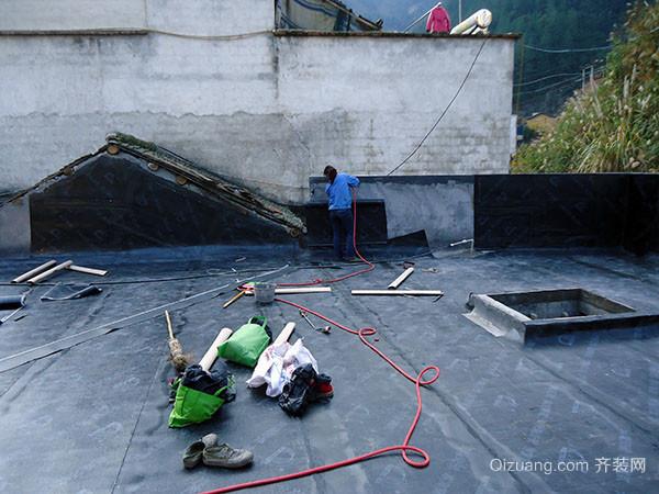 家居屋面卷材防水施工的注意要点解析