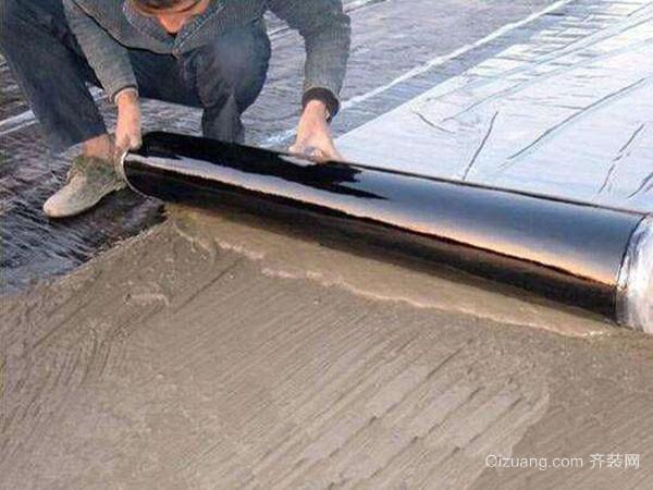 家居屋面卷材防水施工的注意要点