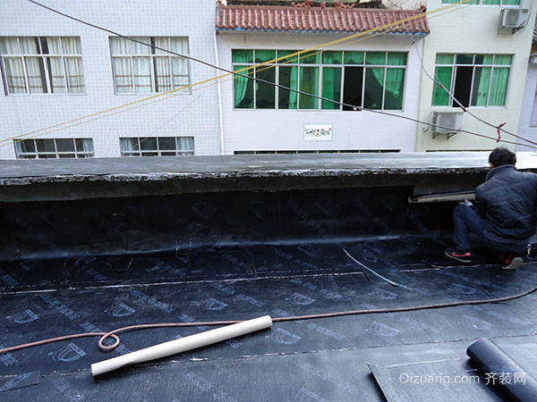屋面卷材防水施工的注意要点