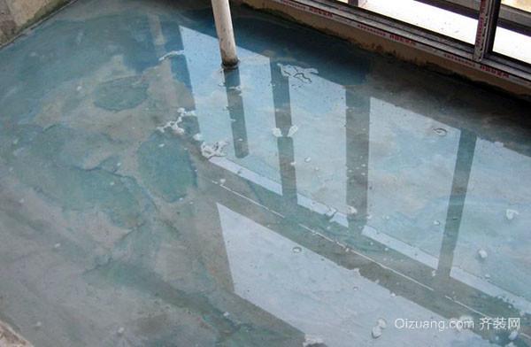 浅谈家庭防水工程施工步骤