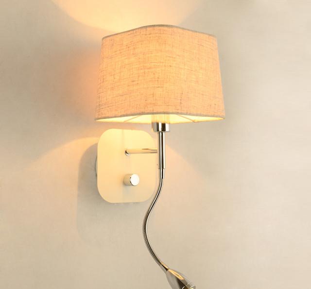 床头壁灯安装高度是多少 壁灯安装方法图片
