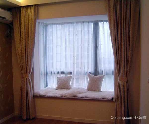 飘窗窗帘怎么搭配好看