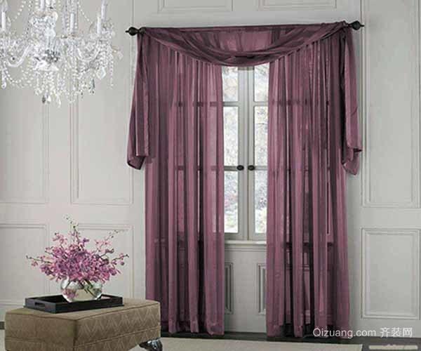 飘窗窗帘怎么搭配