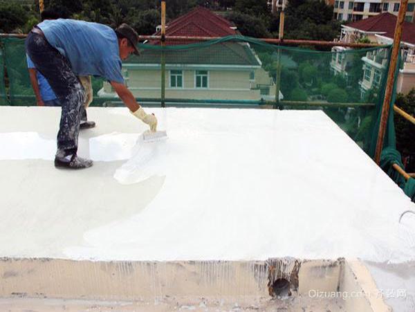 施工家居防水材料的要点