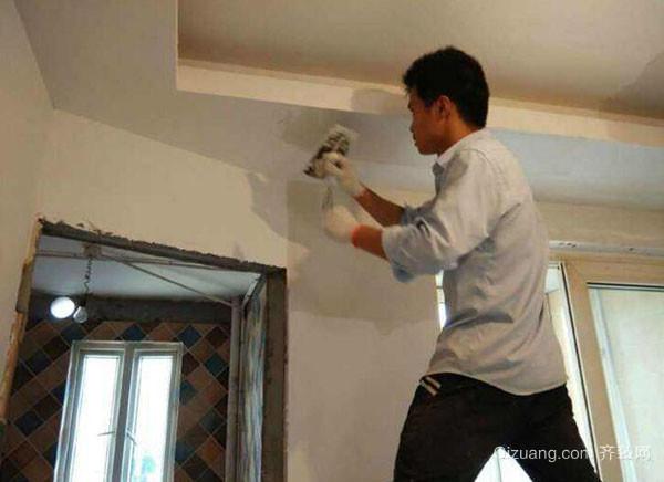 墙面刷漆准备