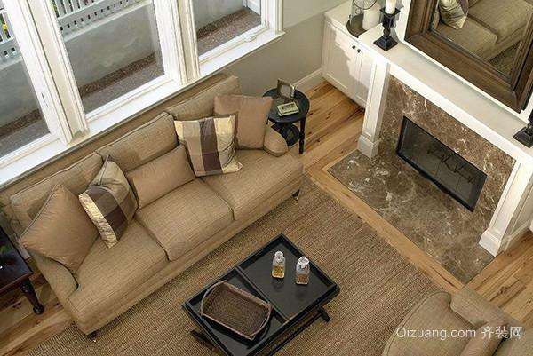 客厅地板砖选择实用技巧三,木地板清新实在