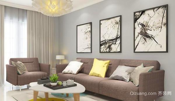 这些都是需要在订小户型客厅沙发尺寸之前就确定的事情.