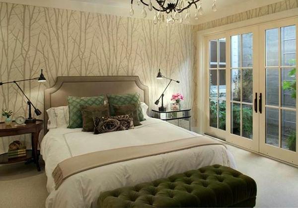 卧室背景墙材料