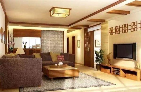 秦皇岛装修师傅分享小户型中式客厅装修技巧