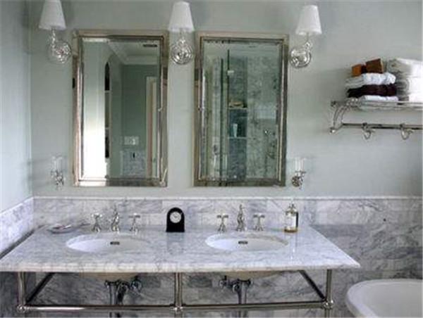 卫生间仿古砖装修效果图