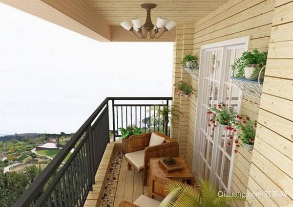 防水需注意   有的人觉得阳台很鸡肋,会选择把墙面打通一扩展室内空间