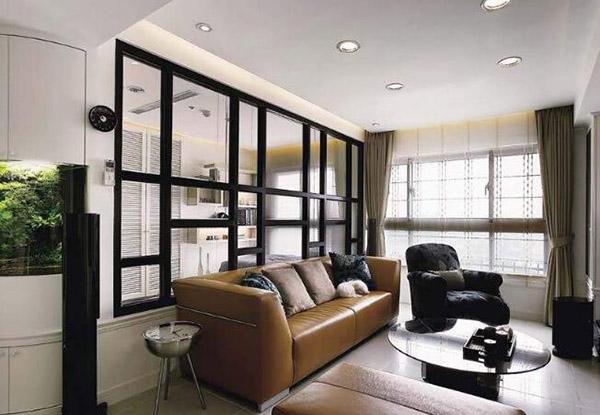 客厅玻璃隔断设计注意