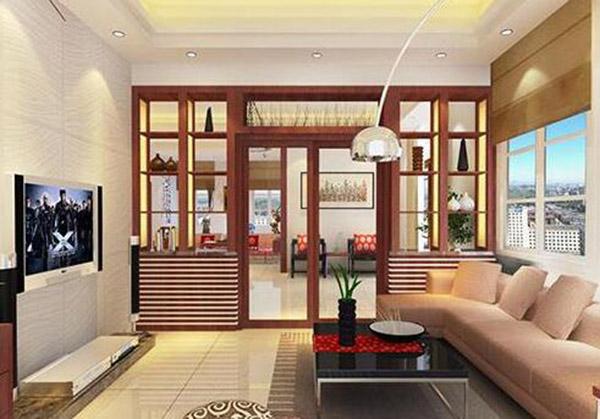 客厅隔断门设计