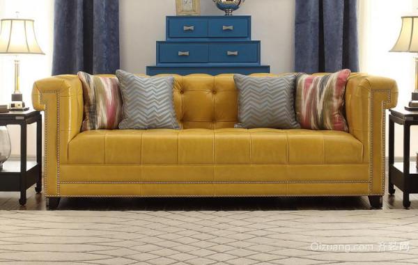 沙发搭配出来的风格
