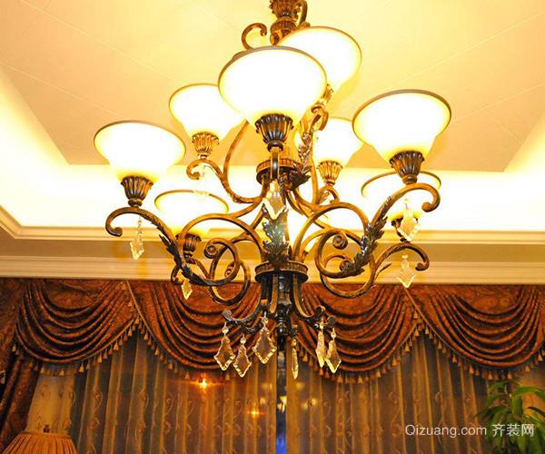 如何在家中安装欧式吊灯 为家居点亮欧式奢华