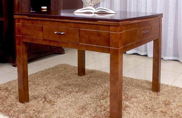 自动实木餐桌挑选