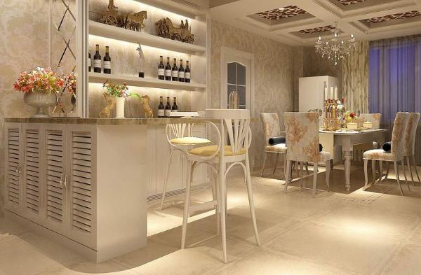 餐厅吧台的设计要考虑什么