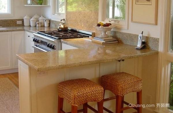 厨房吧台的设计要注重什么