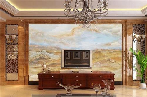 中式电视墙装修效果图