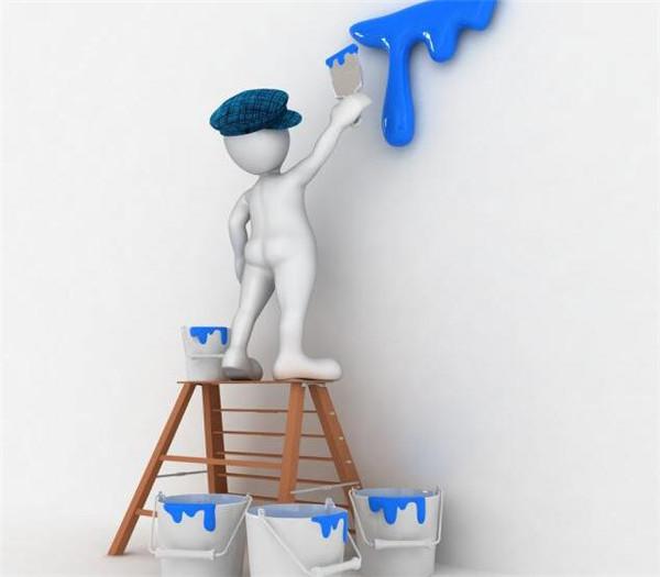 墙面涂料如何正确涂刷