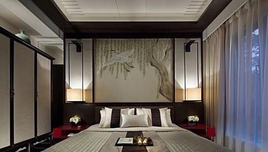 卧室背景墙颜色搭配