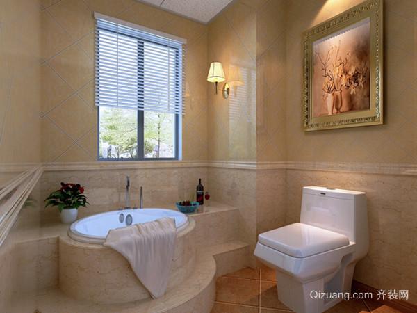卫浴墙面贴砖