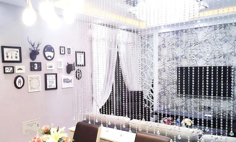 客厅隔断装饰珠帘