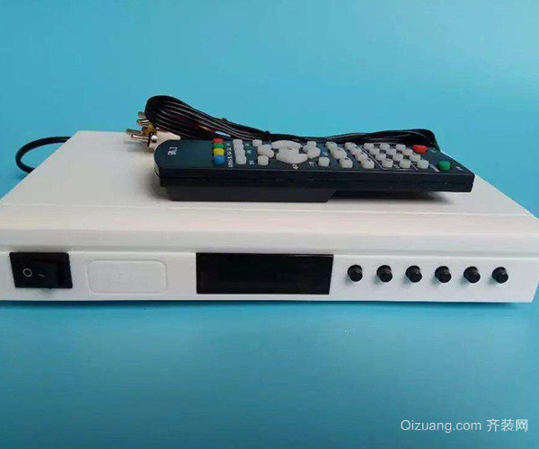 卫星高清电视接收器安装