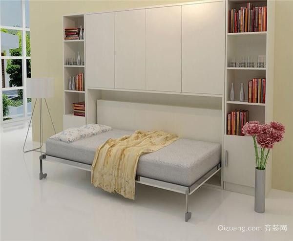 悬挂折叠床