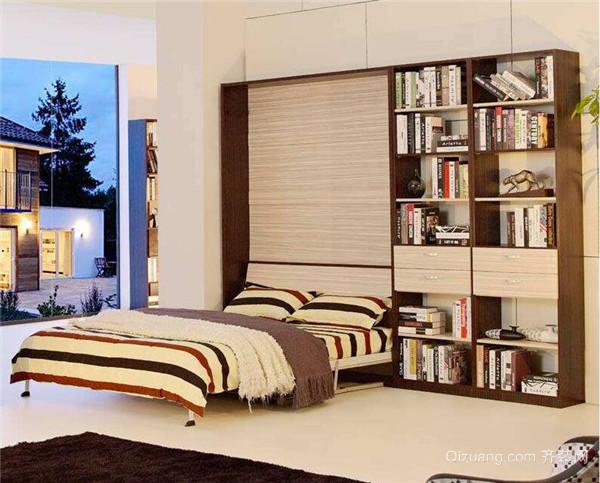 壁挂式折叠床