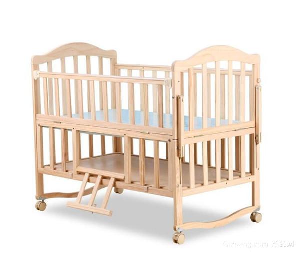 宝宝折叠床安装