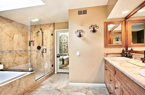 浴室装修的四个小细节